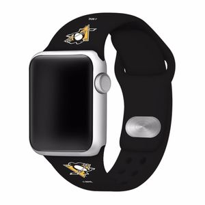 Pittsburgh Penguins Apple Compatible Watchband
